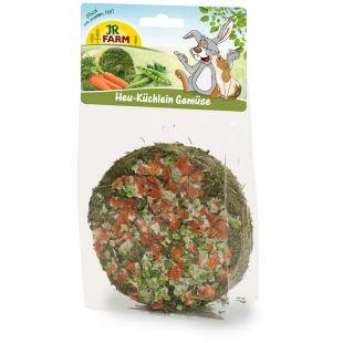 JR FARM Hay-Cake Vegetables graužikų skanėstas 75 g