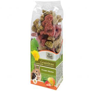 JR FARM Grainless Crispy Bunnies graužikų pašaro papildas 150 g