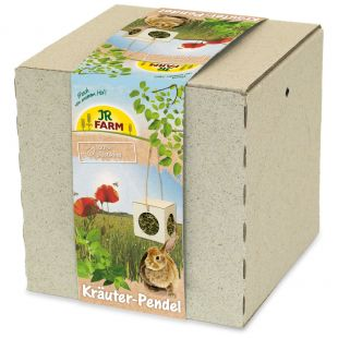 JR FARM Herb-Pendulum graužikų pašaro papildas dėžutėje 130 g