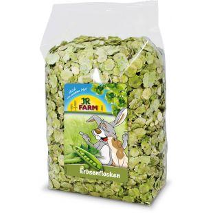 JR FARM Pea Flakes graužikų pašaro papildas 1 kg