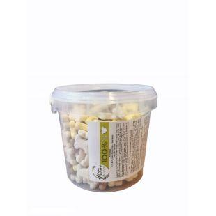 NATURE LIVING Šunų sausainiai vaniliniai kauliukai, 400g