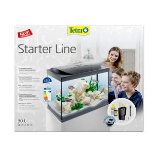 TETRA Starter Line LED akvariumas 80l