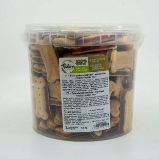 NATURE LIVING Happy happer Sausainiai šunims 1.5 kg
