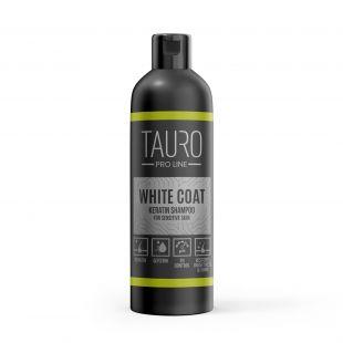 TAURO PRO LINE White coat KERATIN Shampoo , šampūnas šunims ir katėms 250 ml