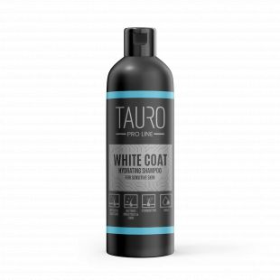 TAURO PRO LINE White Coat hydrating shampoo, šampūnas šunims ir katėms 250 ml