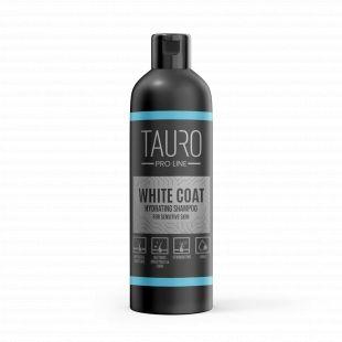 TAURO PRO LINE White Coat moisturizing shampoo , šampūnas šunims ir katėms 250 ml