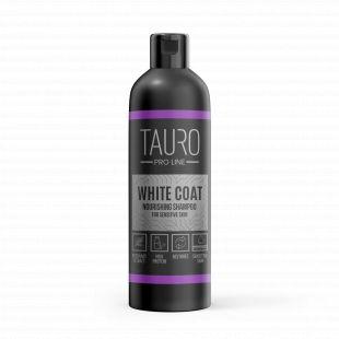 TAURO PRO LINE White Coat Nourishing Shampoo , šampūnas šunims ir katėms 250 ml