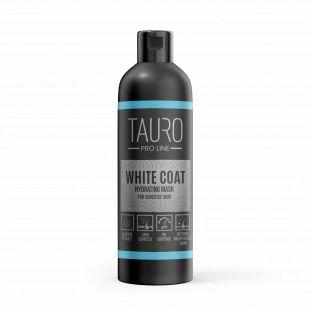 TAURO PRO LINE White Coat moisturizing cream , kaukė šunims ir katėms 250 ml
