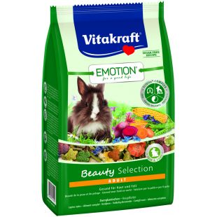 VITAKRAFT Emotion Beauty pašaras dekoratyviniams triušiams 600 g