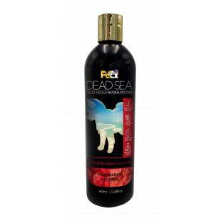 PETEX DEAD SEA Oatmeal & Pomegranate Shampoo For irritated skin Šunų ir kačių šampūnas atstatantis kailį po slinkimo, sudirgusios odos priežiūrai 400 ml