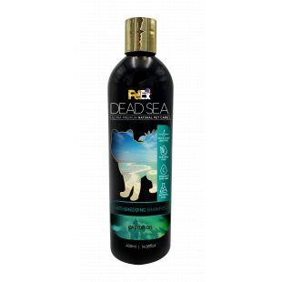 PETEX DEAD SEA Anti-Shedding Shampoo Šunų ir kačių šampūnas nuo kailio slinkimo, 400 ml