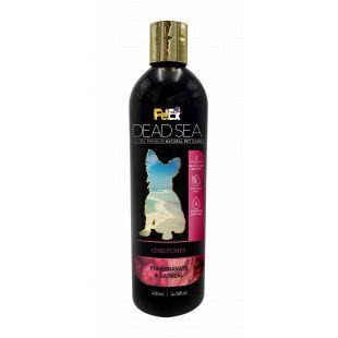 PETEX DEAD SEA Oatmeal and Pomegranate Conditioner Šunų ir kačių kondicionierius, glotninantis ir blizginantis kailį, 400 ml