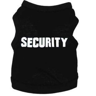 PAW COUTURE Šunų marškinėliai S, juoda