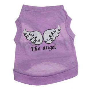 PAW COUTURE Šunų marškinėliai S, violetinė