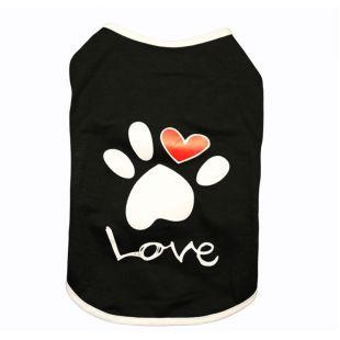 PAW COUTURE Šunų marškinėliai L, juoda