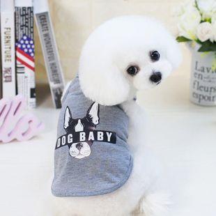 PAW COUTURE Šunų marškinėliai L, pilka