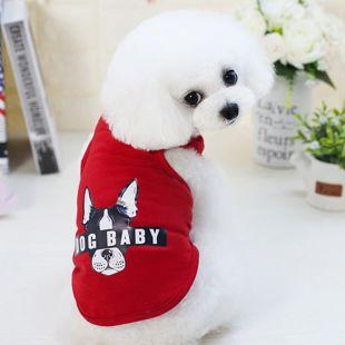 PAW COUTURE Šunų marškinėliai M, raudona