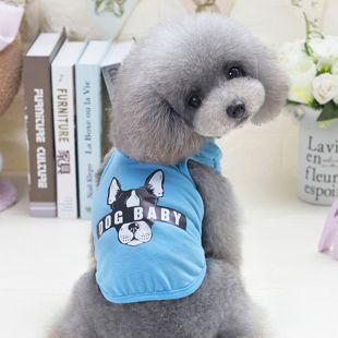 PAW COUTURE Šunų marškinėliai L, mėlyna