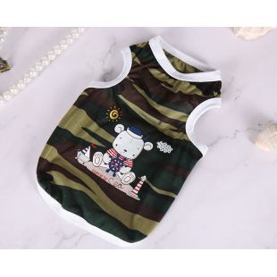 PAW COUTURE Šunų marškinėliai S, dryžuoti
