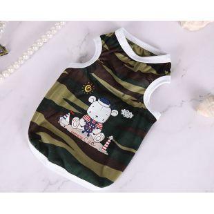 PAW COUTURE Šunų marškinėliai M, dryžuoti