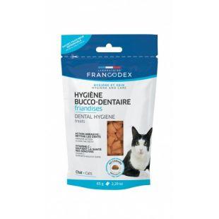 FRANCODEX Kačių pašaro papildas burnos priežiūrai 65 g