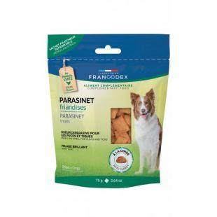 FRANCODEX Šunų pašaro papildas, saugantis nuo parazitų 75 g