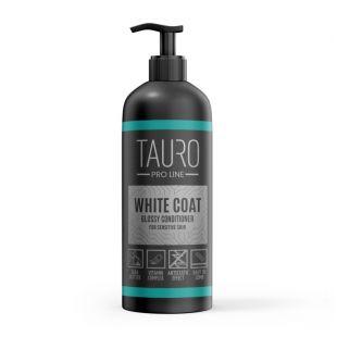 TAURO PRO LINE White Coat glossy conditioner kondicionierius šunims ir katėms 1 l