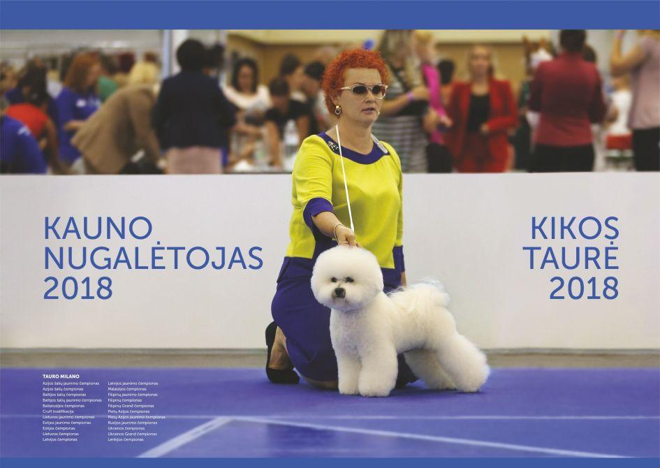 Tarptautinės visų veislių šunų parodos 2018