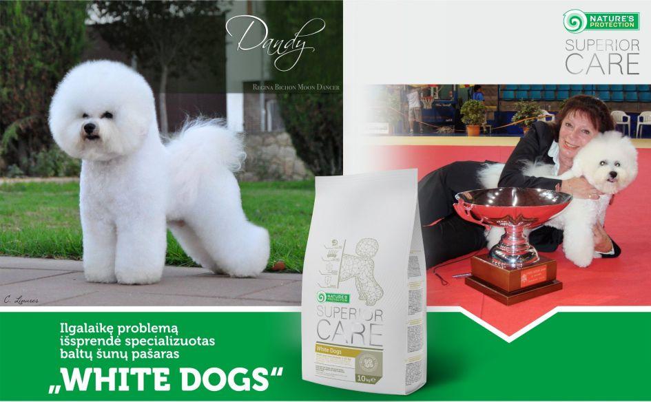Ilgalaikę problemą išsprendė specializuotas baltų šunų pašaras