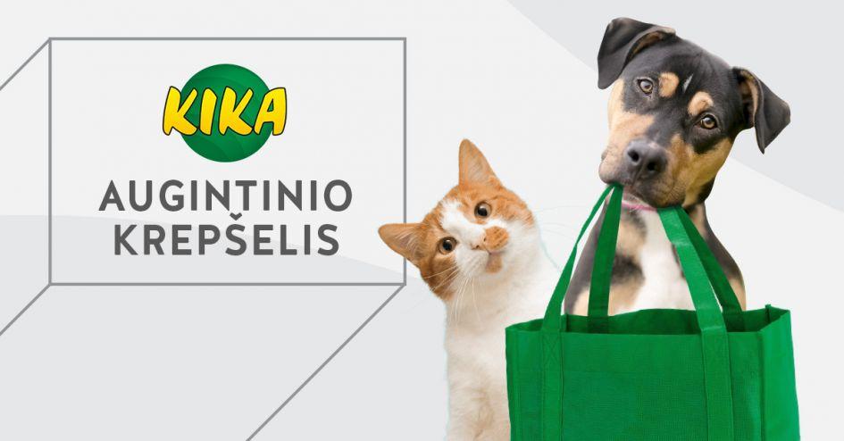 NAUJIENA parduotuvėse KIKA – įkurtuvių krepšelis