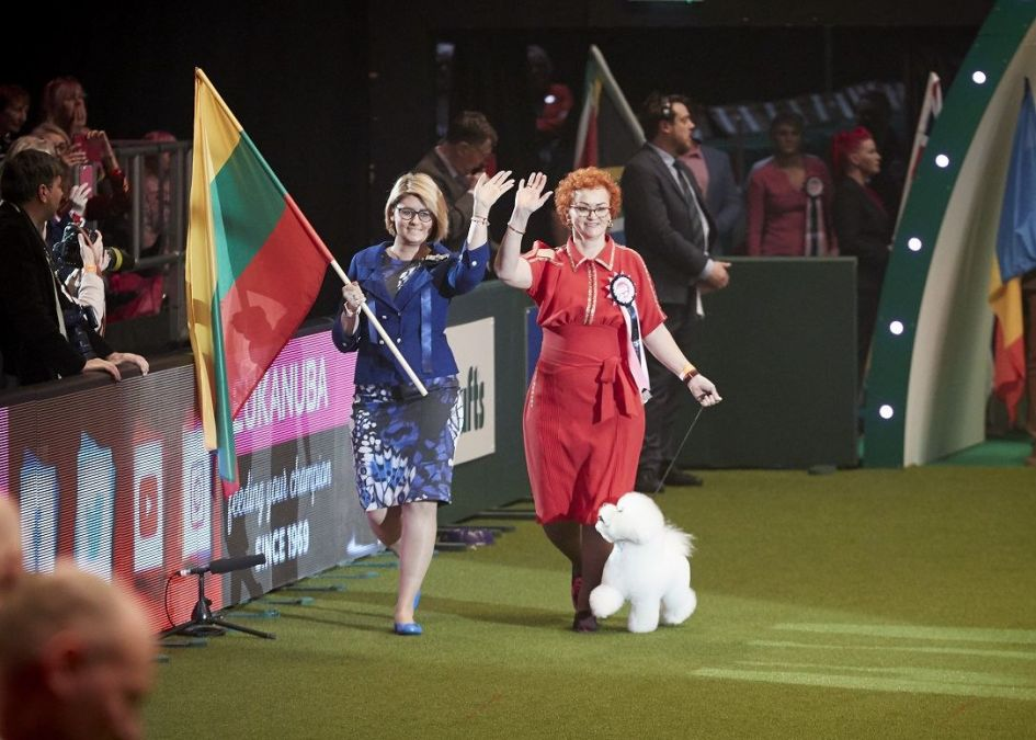 Pirmą kartą Lietuva pakviesta dalyvauti prestižiniame pasaulio šunų konkurse
