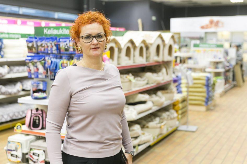 Nuo šiol Klaipėdos AKROPOLYJE tik viena KIKA parduotuvė