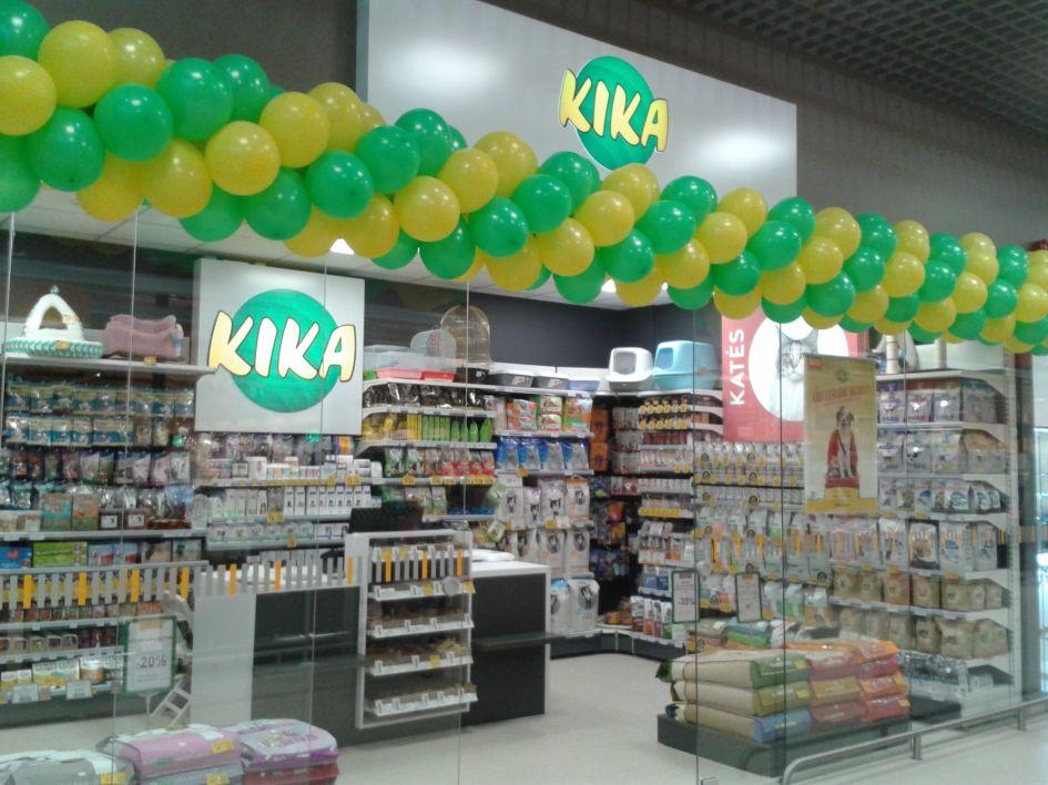 Po rekonstrukcijos atidaroma KIKA parduotuvė Vilniuje, Sausio 13-osios g.