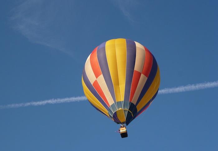 Laimėk skrydį oro balionu!