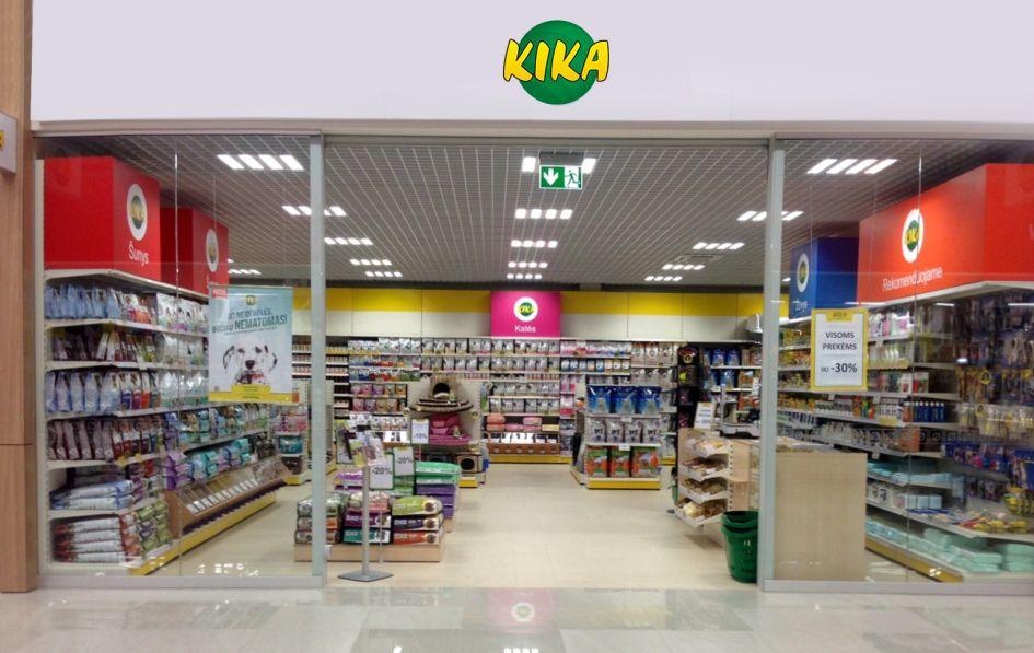 Nauja KIKA parduotuvė Vilniuje
