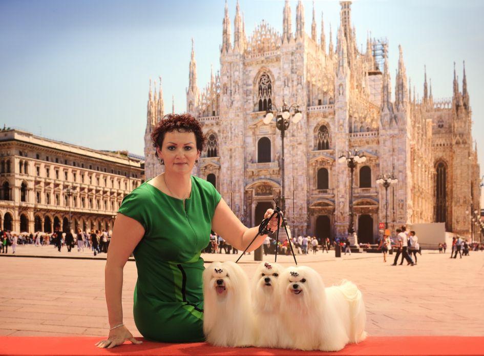 Lietuvos atstovai triumfavo Pasaulinėje šunų parodoje Milane