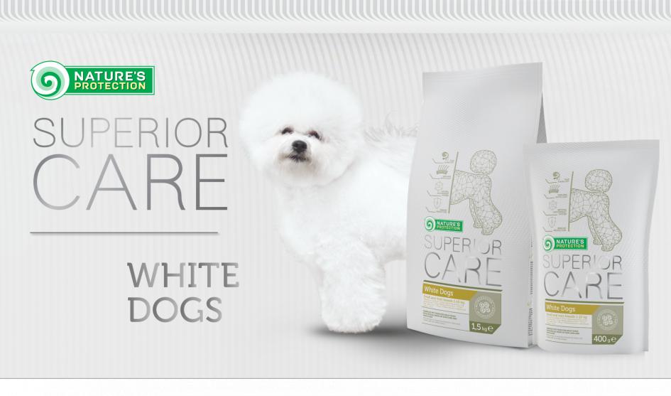 """NAUJIENA: """"White Dogs"""" – pašaras balto ir šviesaus kailio šunims"""