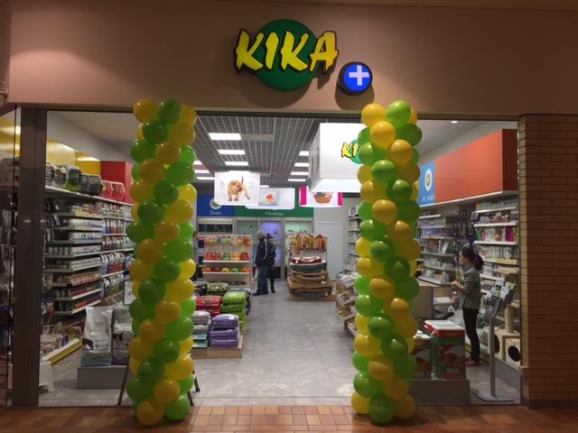 Persikėlė Kauno parduotuvė KIKA, esanti PC